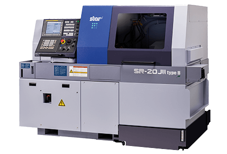 Star SR-20JII sliding head lathe