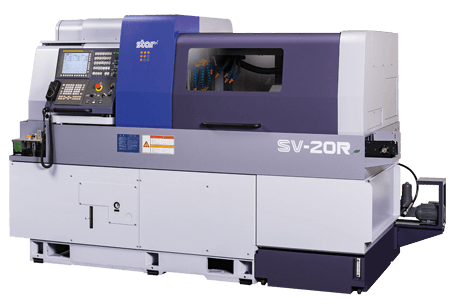 Star SV-20R sliding head lathe