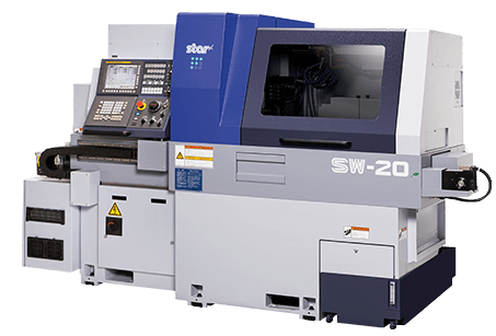 Star SW-20 sliding head lathe