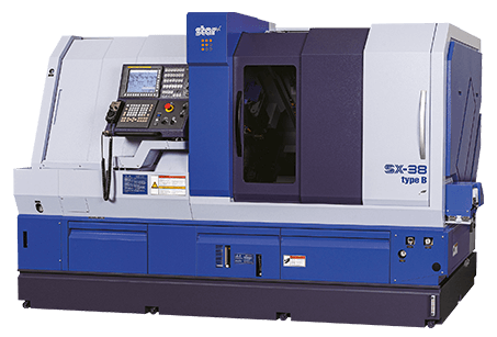 Star SX-38 sliding head lathe
